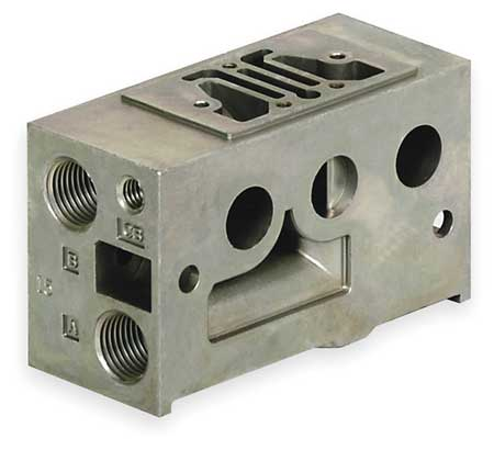 Manifold Block, 1 Station, 1/8 NPT