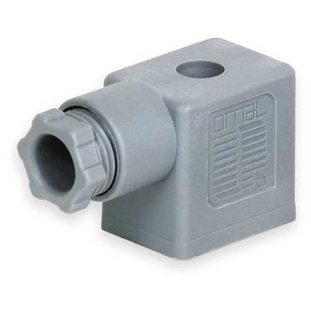 Connector,  Coil, 22mm DIN, 24V to 220V
