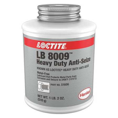 loctite anti seize 19 oz brush top can paste 51606. Black Bedroom Furniture Sets. Home Design Ideas