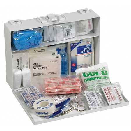 First Aid Kit, Bulk, White, 23 Pcs, 25 Ppl
