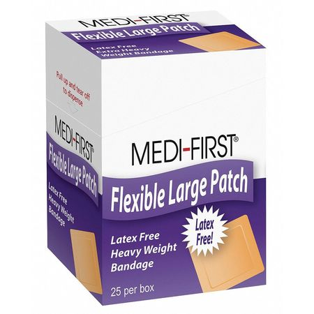 Bandage,  Fabric,  Box,  3 In L,  PK25