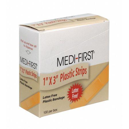 Bandage, Plastic, Box, 3 In L, PK100