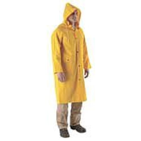 Raincoat, Yellow, 2XL