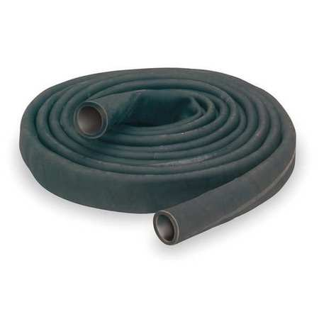 "3"" ID x 100 ft Rubber Water Discharge Hose BK"