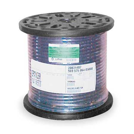 "1/2"" ID x 500 ft Bulk Air Hose 200 PSI BK"