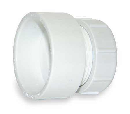 "2"" Hub x Socket PVC DWV Female Trap Adapter"