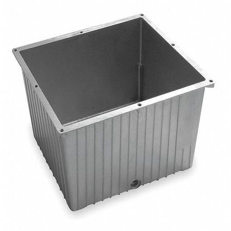 Hydraulic Tank, Aluminum, 11 Gal
