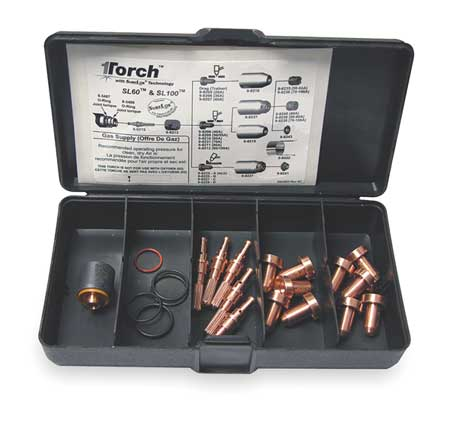 Plasma Torch Consumable Kit, 50-55 Amps