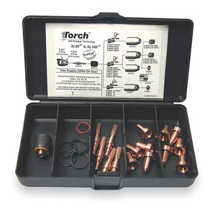 Plasma Torch Consumable Kit, 60 Amps