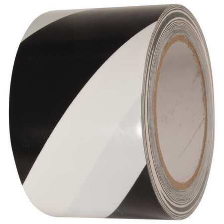 Floor Marking Tape, Roll, 3In W, 108 ft. L