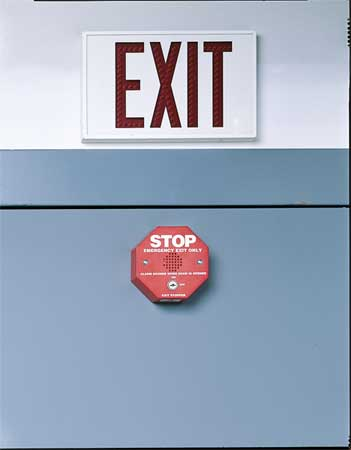 Emergency Exit Door Alarms