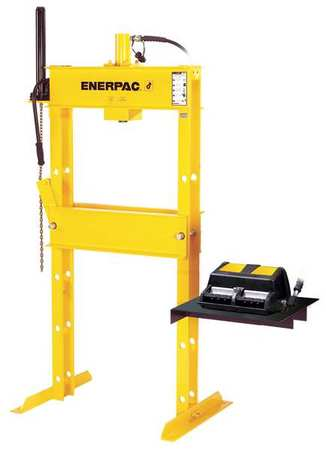 Enerpac Hydraulic Press 10 Ton H Frame Ipa 1220 Zoro Com