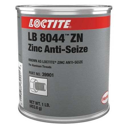 Anti Seize, Zinc, 16 oz, Can, Grey, Paste