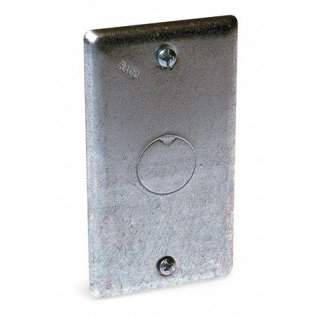 Electrical Box Cover, Square, KO Centered