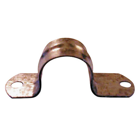 Two Hole Conduit Strap, Steel, PK100