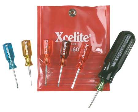 Jewelers Screwdriver Kit, Sl/Ph, 7 pcs.