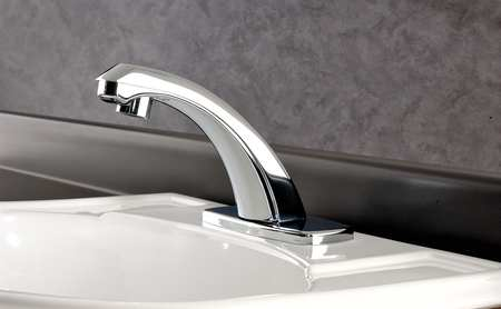 Optima Plus Standard Bathroom Faucet Chrome Holes ADA Compliant - Ada bathroom faucet