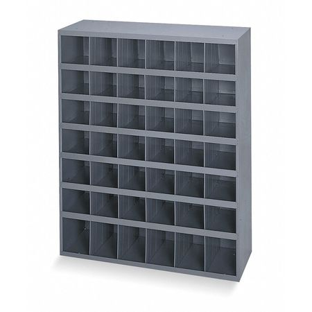 Bin Unit, 42 Bins, 33-3/4 x 12 x 42 In.