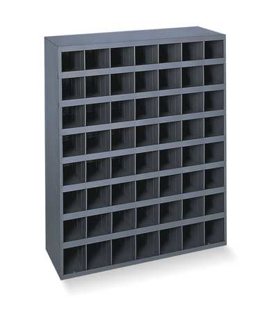 Bin Unit, 56 Bins, 33-3/4 x 12 x 42 In.