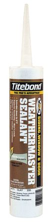 Sealant, 10.1 oz, Clay