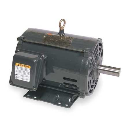 Mtr, 3 Ph, 3 HP, 1170, 208-230/460V, Eff 86.5