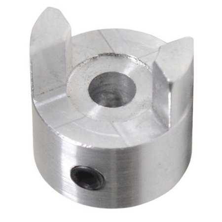 """Jaw Coupling Hub, AL050, Aluminum, 1/4"""", NK"""