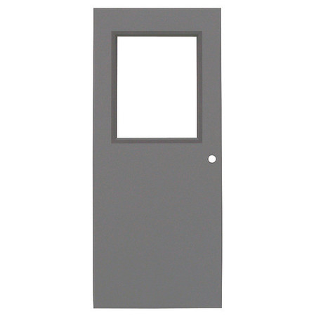 Link To Product Metal Door With Glass, Type 1, 84 X 36 In