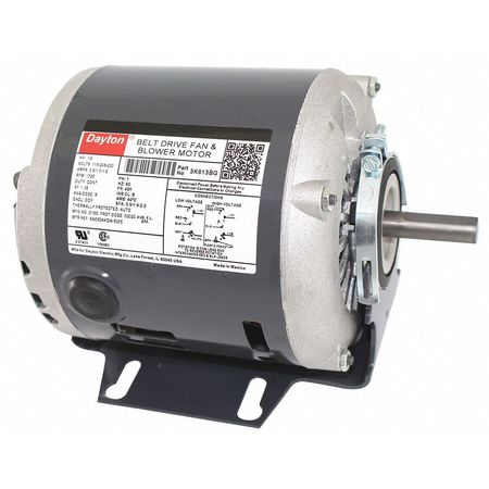 Split-Phase Belt Drive 1/6 HP Fan/Blower Motors