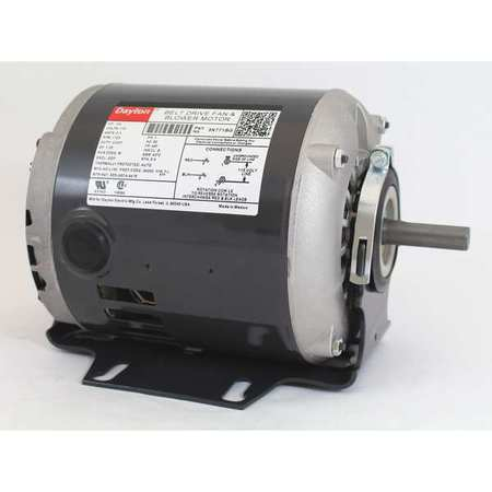 Motor, 1/4 HP, Split Ph, 1725 RPM, 115 V