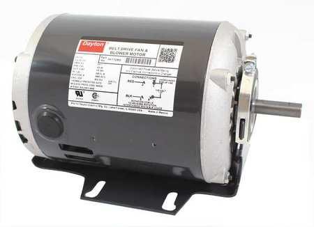 Motor, 1/2 HP, Split Ph, 1725 RPM, 115 V