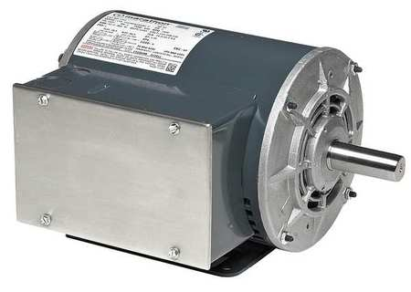 Air Compr Mtr, 1/2 HP, 3450 rpm, 115V, 56 Fr