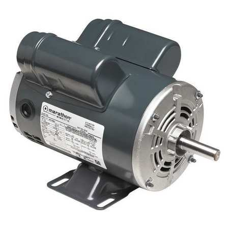 Air Compr Motor, 3/4 HP, 3450 rpm, 115V, 56