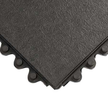 Modular Antifatigue Mat, Black, 3ft.x3ft.