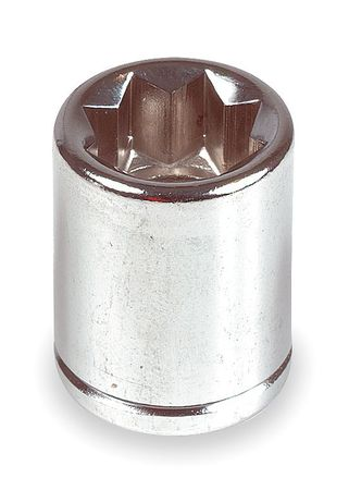 Socket, 3/8 in. Dr, 7/16 in. Double Square