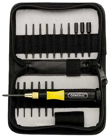 Precision Screwdriver Set, Combo, 18 pcs.