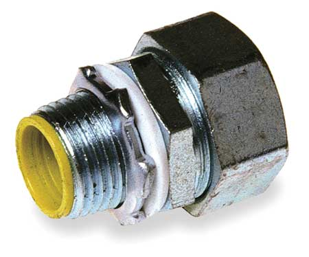 Hubbell Liquid-Tight Conduit Fittings,  Straight Connector