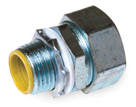 Insulated Connector, 3/4 In., Straight