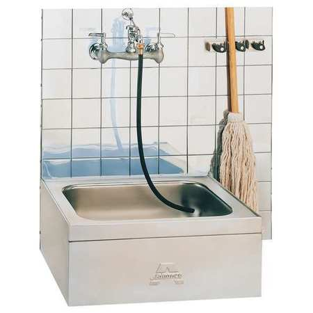 Advance Tabco Mop Sink 304 Stainless Steel Stainless Steel Bowl Size 20 X 16 9 Op 20