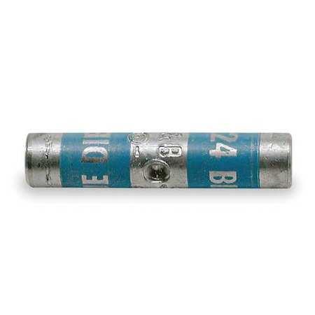 Long-Barrel Splice, 1.25 in. L, Blue