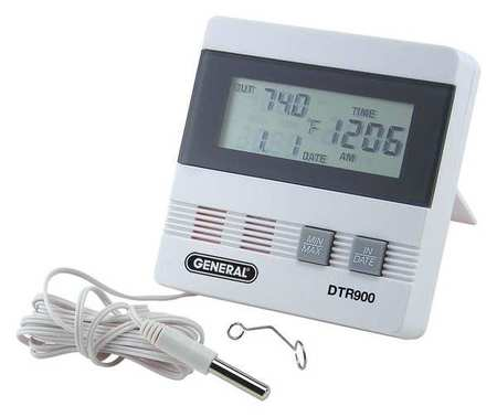 Digital Thermometer, -40 to 176 Degree F