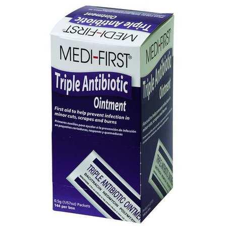 Triple Antibiotic Ointment, 0.03 oz, PK144