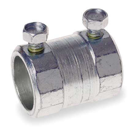 Coupling, Setscrew, 1/2 In