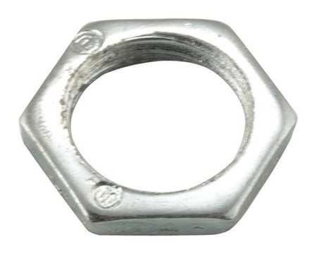 Locknut, 3/8 In., Zinc Electroplated Steel