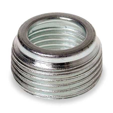 Bushing, Reducing, ZincPlatedSteel, 1 1/4In