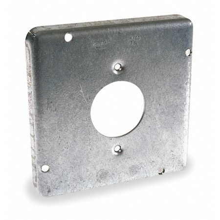Electrical Box Cover, 20A Receptacle, 1/8""