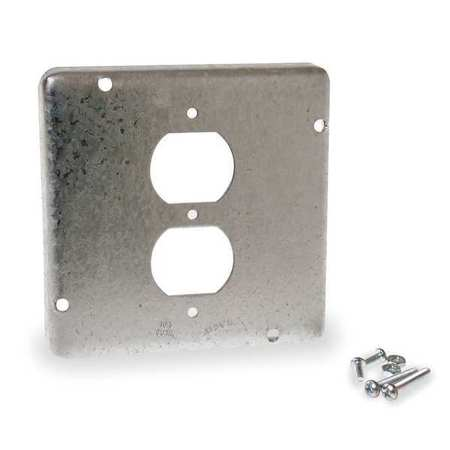 Electrical Box Cover, Duplex Receptacle