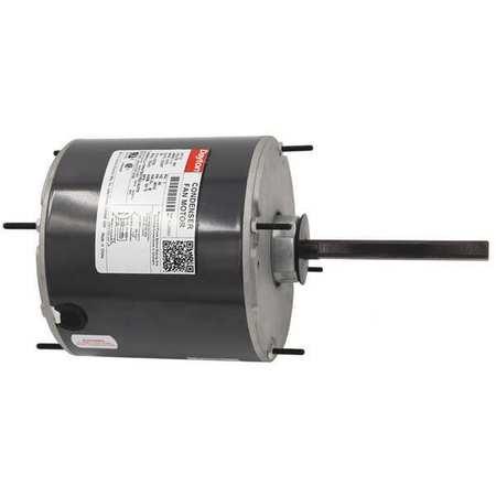 Condenser Fan Motor, 1/2 HP, 1075 rpm, 60Hz