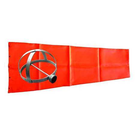 Windsock Kit, Orange, 18 In.
