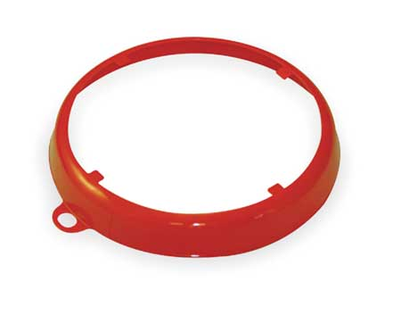 Color Code Drum Ring, Gloss Finish, Orange