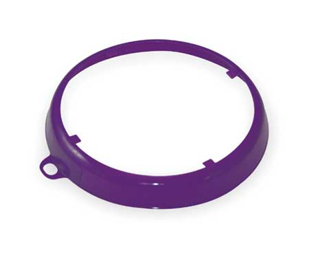 Color Code Drum Ring, Gloss Finish, Purple